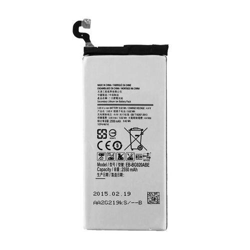 باتری موبایل مدل Galaxy S6 با ظرفیت 2550mAh مناسب برای گوشی موبایل سامسونگ Galaxy S6