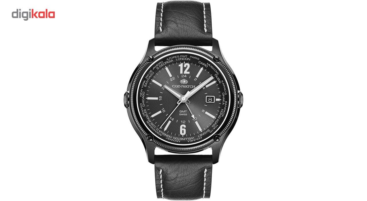 خرید ساعت مچی عقربه ای مردانه کوین واچ مدل C161BBK تولید محدود