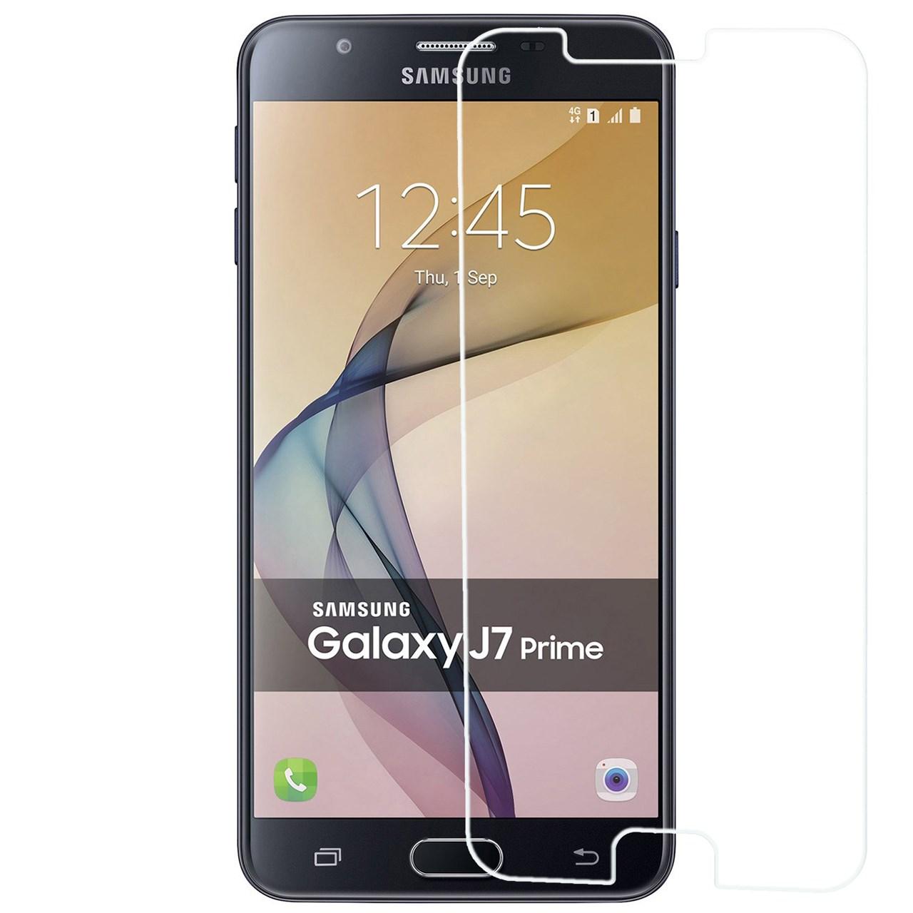 محافظ صفحه نمایش شیشه ای ریمکس مدل Tempered مناسب برای گوشی موبایل سامسونگ Galaxy J7 Prime              ( قیمت و خرید)