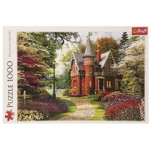 پازل 1000 تکه تریفل مدل Victorian Cottage