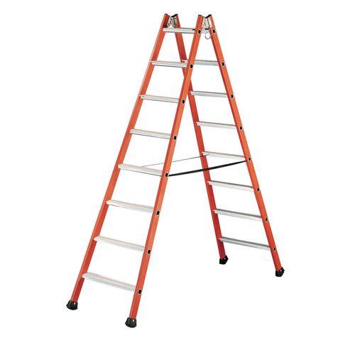 نردبان شانزده پله عایق برق توبسکا کومابی مدل 04255008