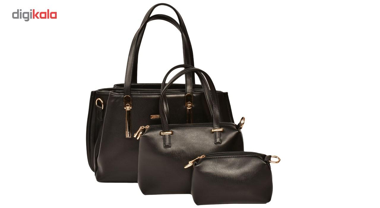 کیف دستی زنانه پارینه چرم مدل PlV14
