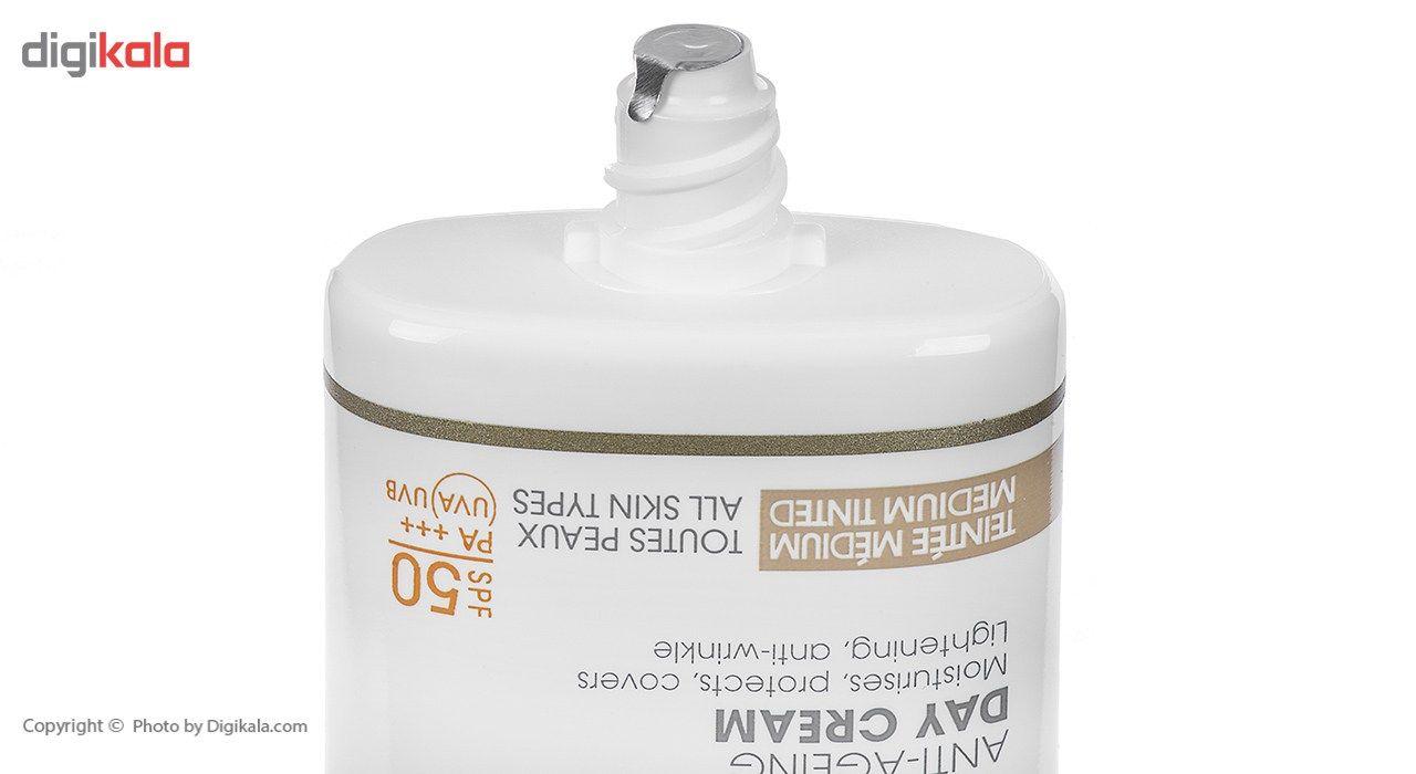 کرم ضد آفتاب و ضد چروک رنگی درمدن سری Day Protocole Spf50 حجم 50 میلی لیتر main 1 3