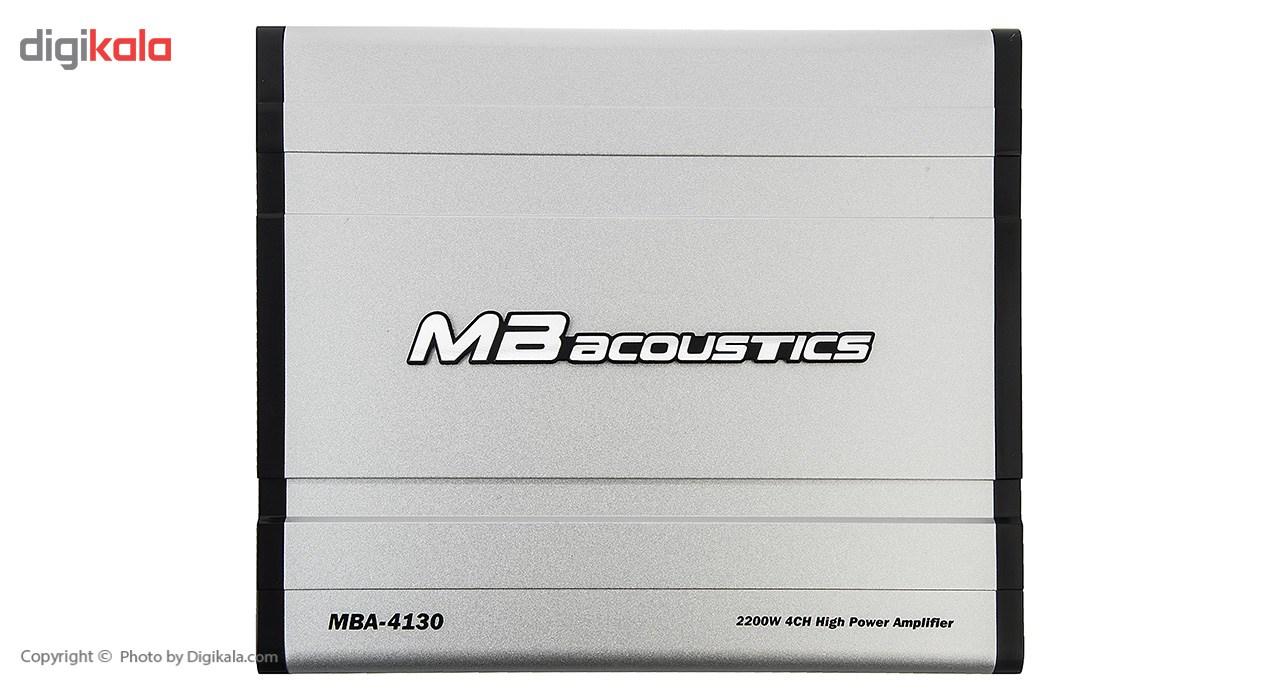 آمپلی فایر ام بی آکوستیکس مدل MBA-4130