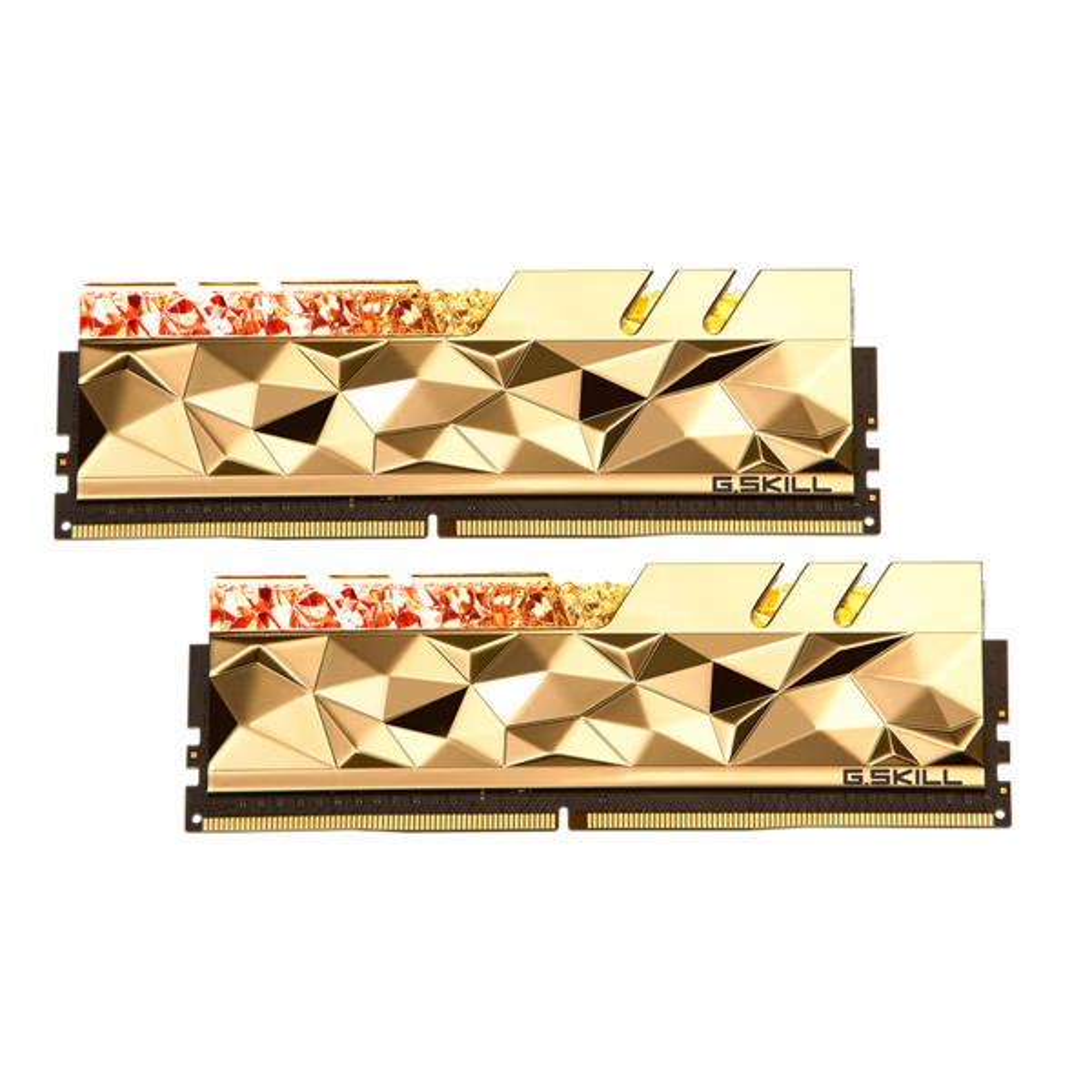 رم دسکتاپ DDR4 دو کاناله 4266 مگاهرتز CL19 جی اسکیل مدل TRIDENTZ ROYAL ELITE ظرفیت 64 گیگابایت
