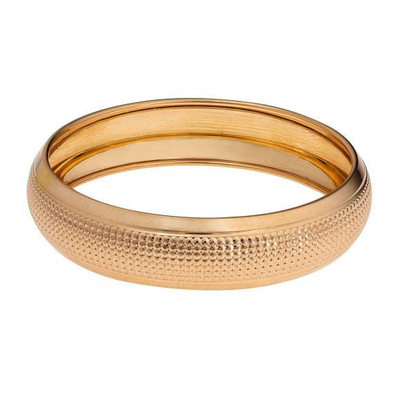 النگو طلا 18 عیار زنانه گالری یارطلا کد AL51-G-0