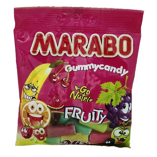 پاستیل میوه مخلوط مارابو - 50 گرم