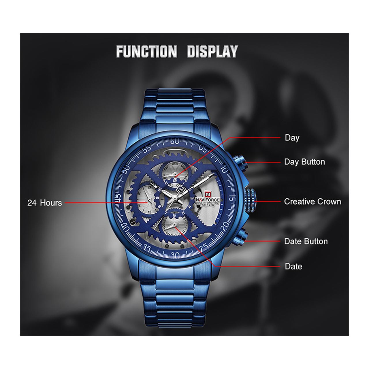 ساعت مچی عقربهای مردانه نیوی فورس مدل NF9149M