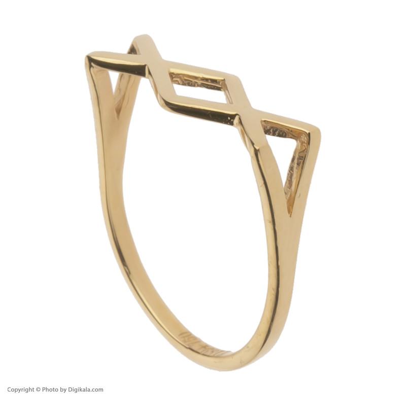 انگشتر طلا 18 عیار زنانه مایا ماهک مدل MR0457