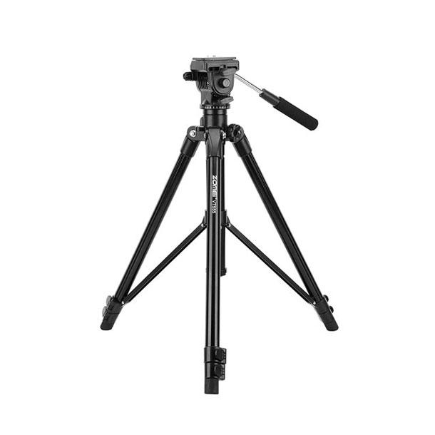 بررسی و {خرید با تخفیف}                                     سه پایه دوربین زومی مدل VT-555                             اصل