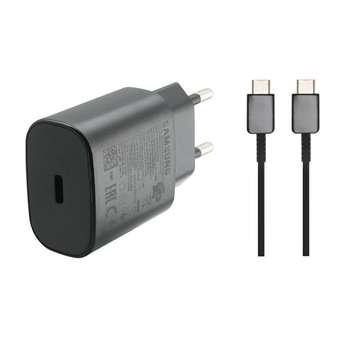 شارژر دیواری سامسونگ مدل EPS-TA800 به همراه کابل تبدیل USB-C