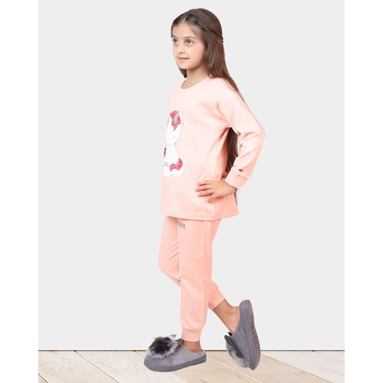 ست تی شرت و شلوار دخترانه مادر مدل 303-80 main 1 12