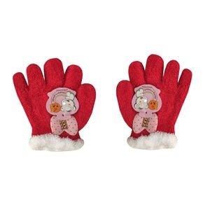 دستکش دخترانه طرح پاپیون کد 1-3