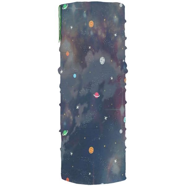 دستمال سر و گردن مدل کهکشان کد A13