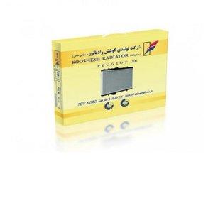 رادیاتور آب کوشش رادیاتور کد 16 مناسب برای پژو 206