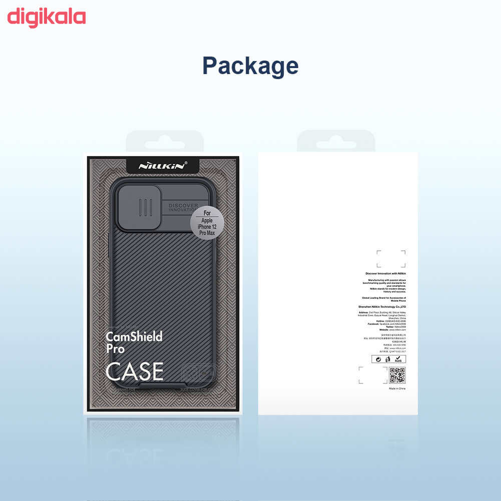 کاور نیلکین مدل Camshield Pro مناسب برای گوشی موبایل اپل IPhone 12 Pro Max main 1 15