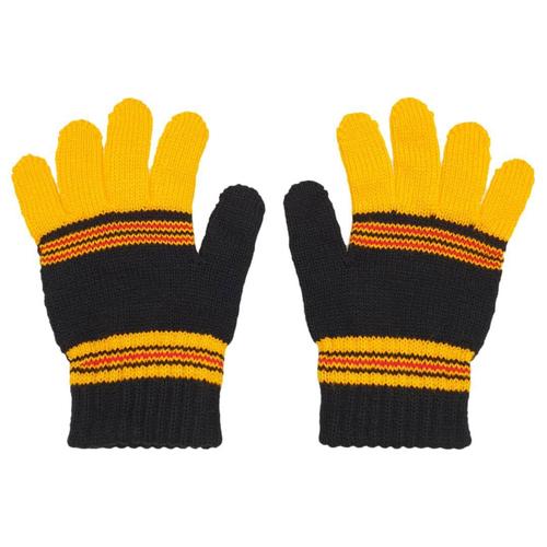 دستکش بافتنی بچگانه مدل Y01 رنگ زرد