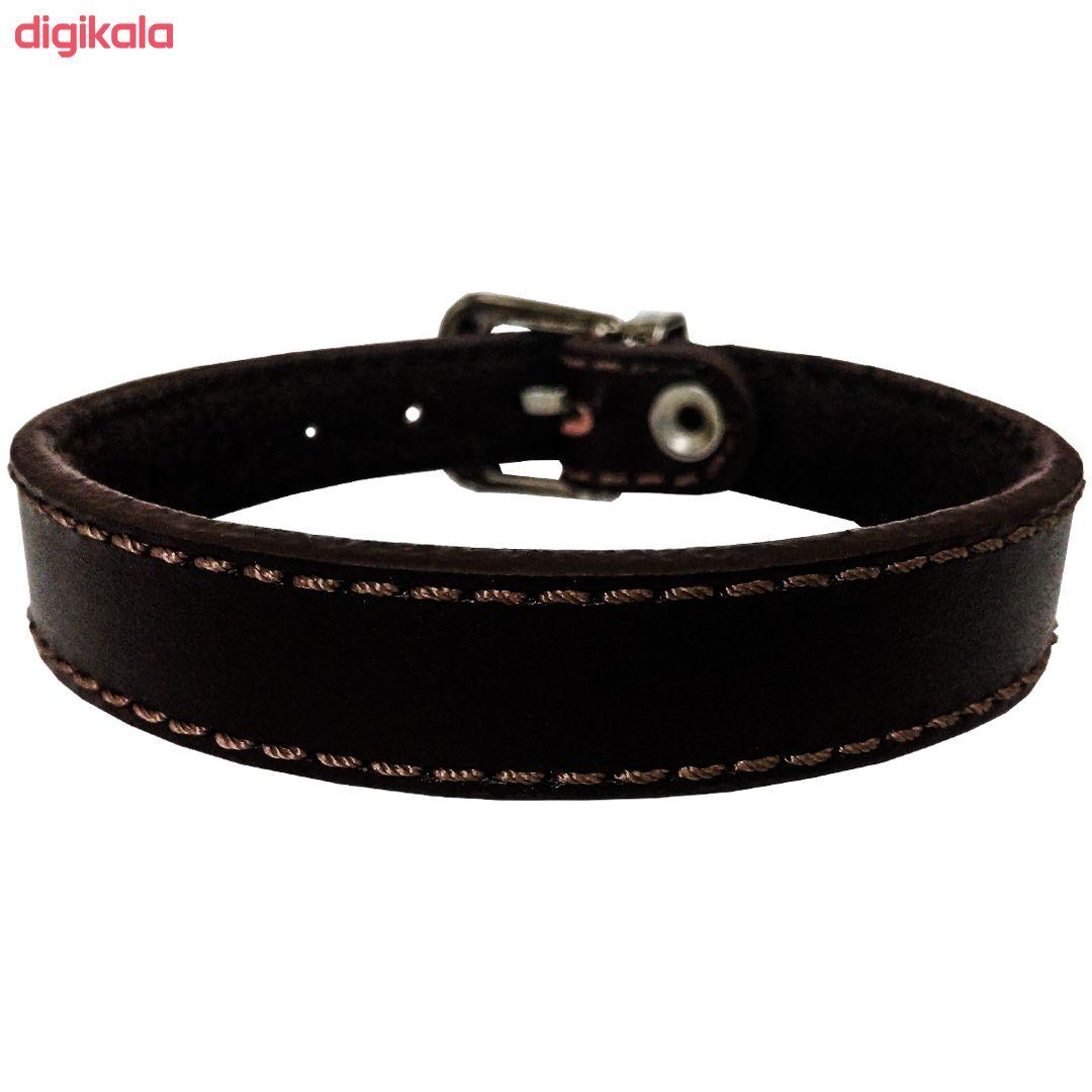 دستبند چرم وارک مدل پرهام کد rb201 main 1 6