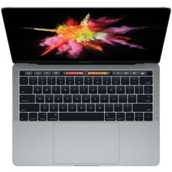لپ تاپ 13 اینچی اپل مدل MacBook Pro MPXV2 2017 همراه با تاچ بار