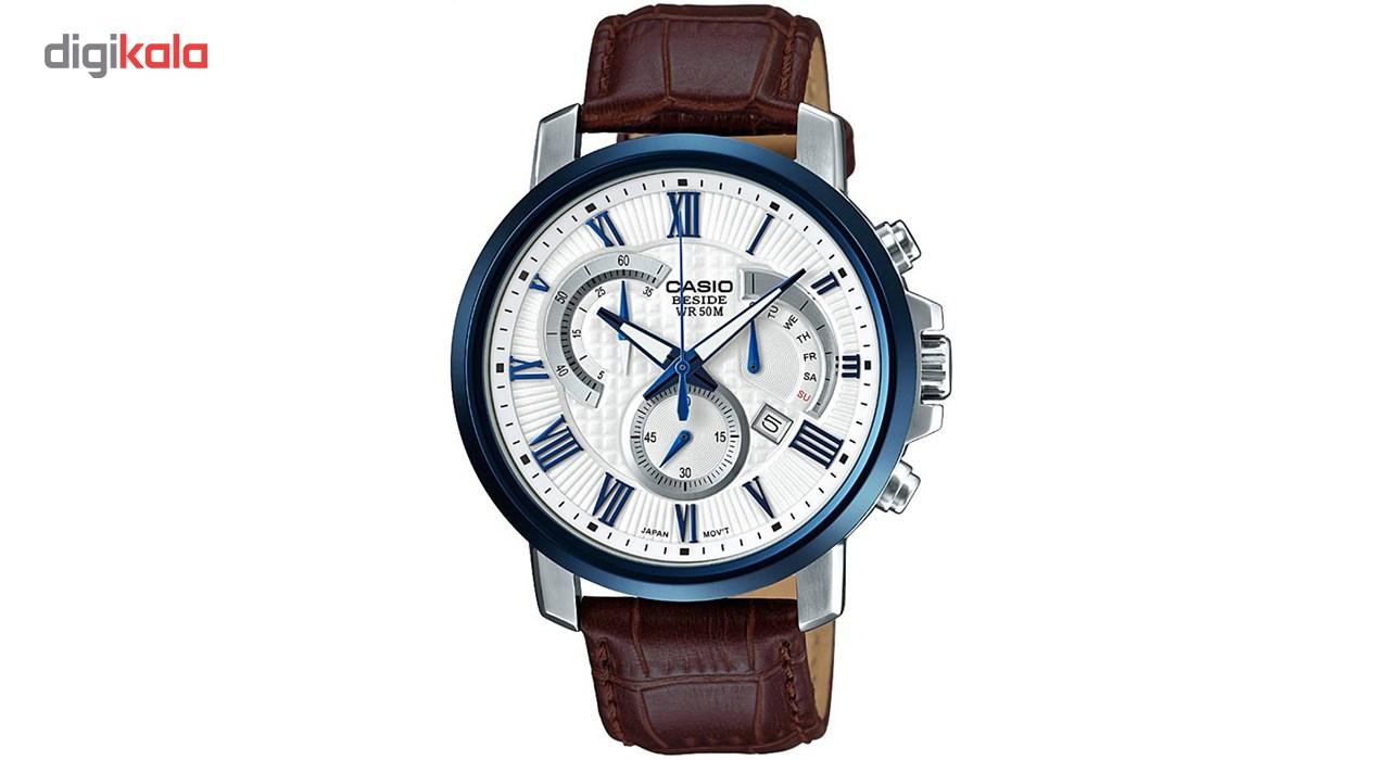 خرید ساعت مچی عقربه ای مردانه کاسیو مدل BEM-520BUL-7A3VDF