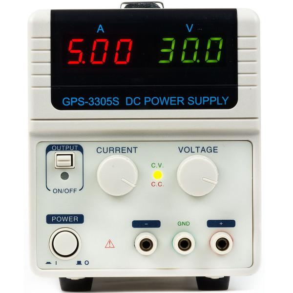 منبع تغذیه GPS Ltd مدل GPS-3305S  30 ولت 5 آمپر تک کانال
