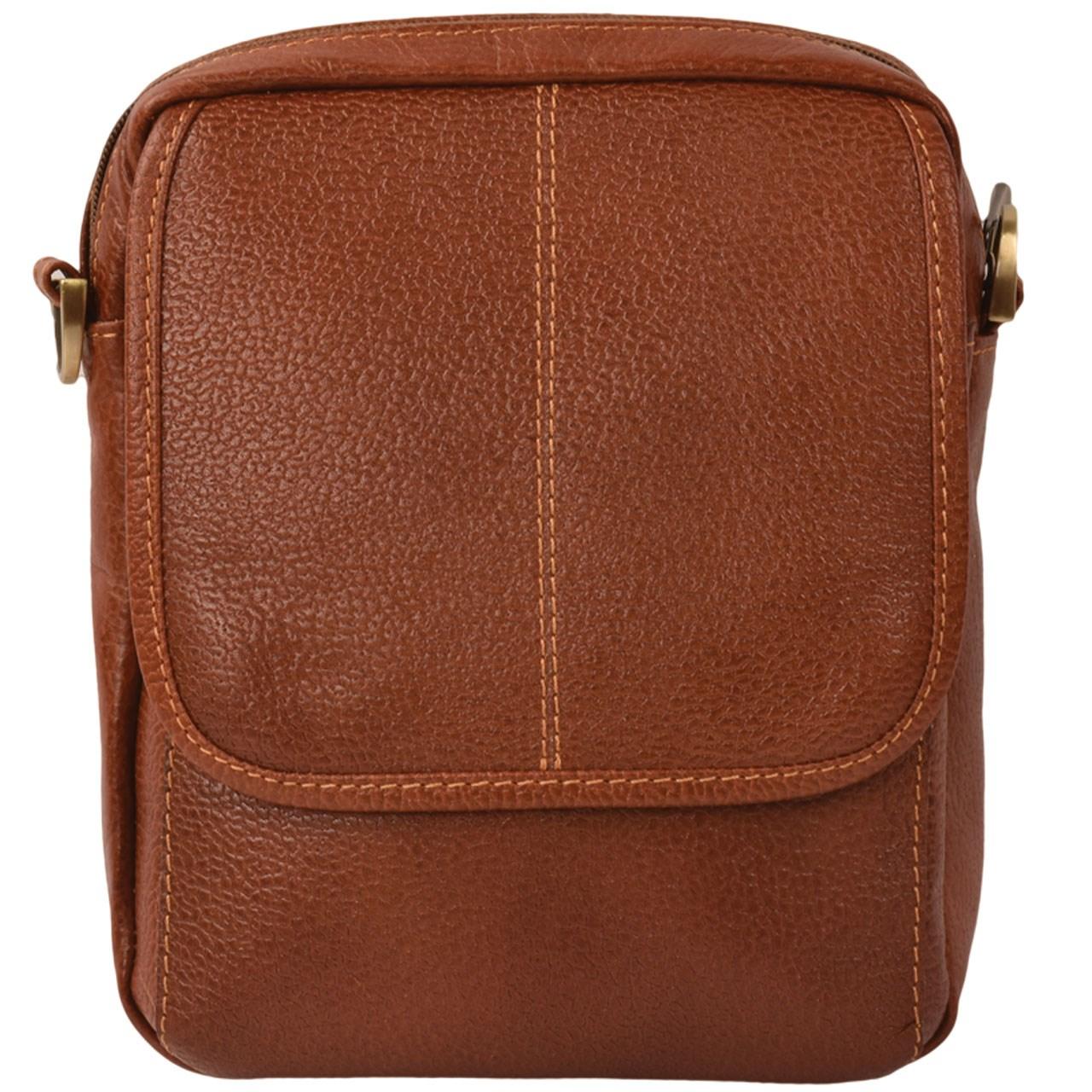 کیف دوشی چرم طبیعی کهن چرم مدل DB65-1