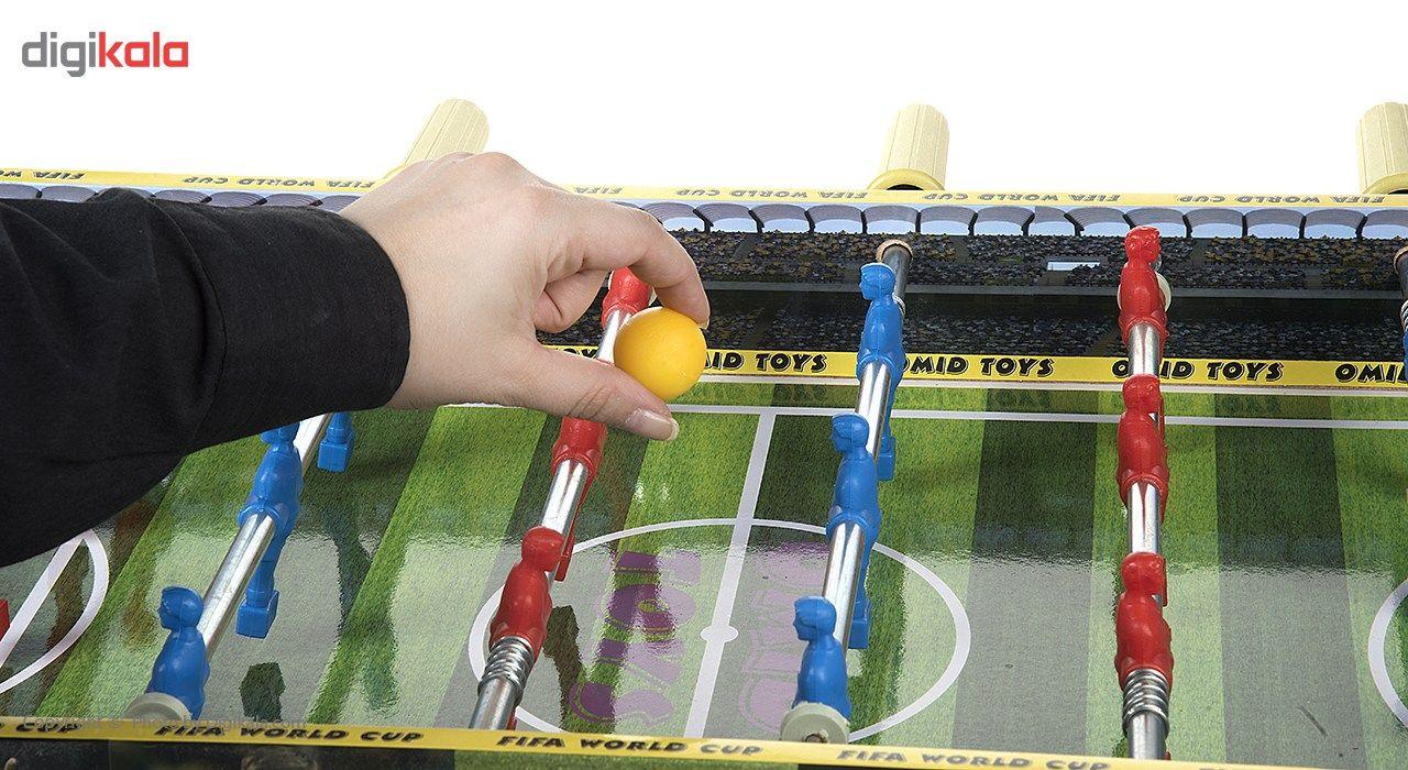 فوتبال دستی مدل World Cup main 1 6