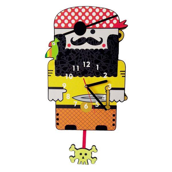 ساعت دیواری جیک جیک مدل دزد دریایی