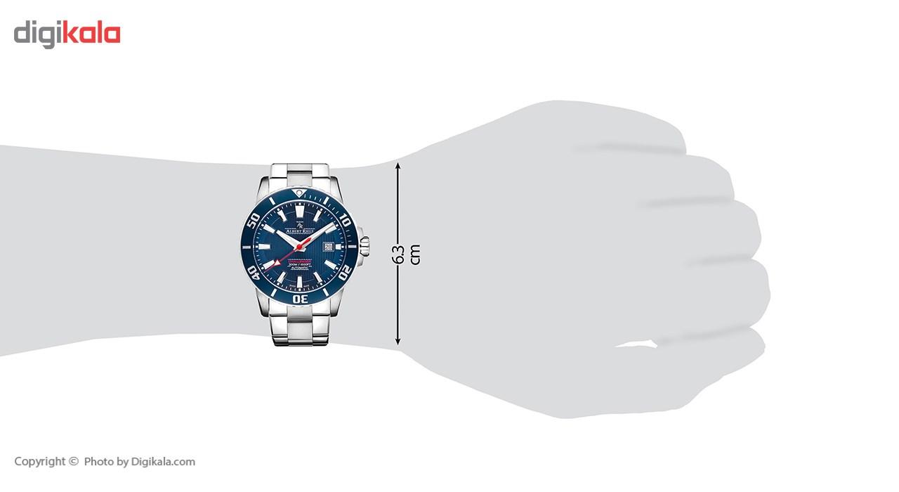 ساعت مچی عقربه ای مردانه آلبرت ریله مدل 232GA04-SS66I-SS