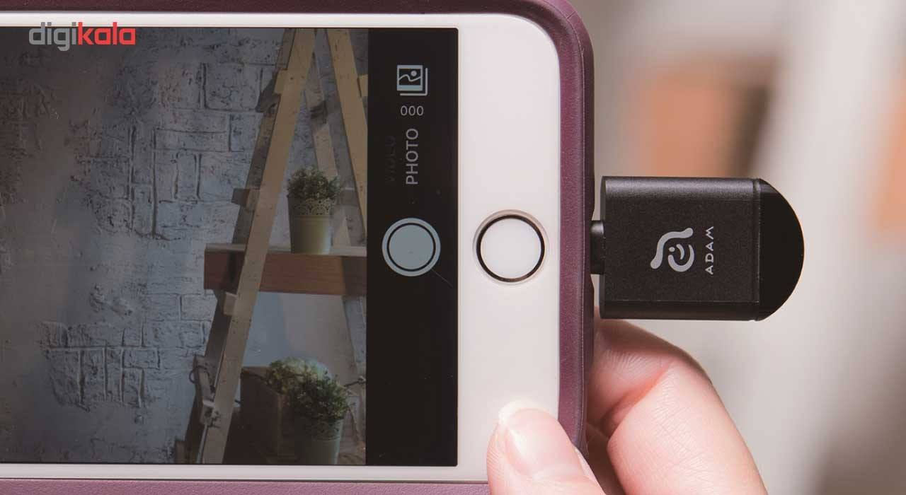 کارت خوان آدام المنتس مدل iKlips miReader 4K With 64GB microSD با کانکتور لایتنینگ main 1 4