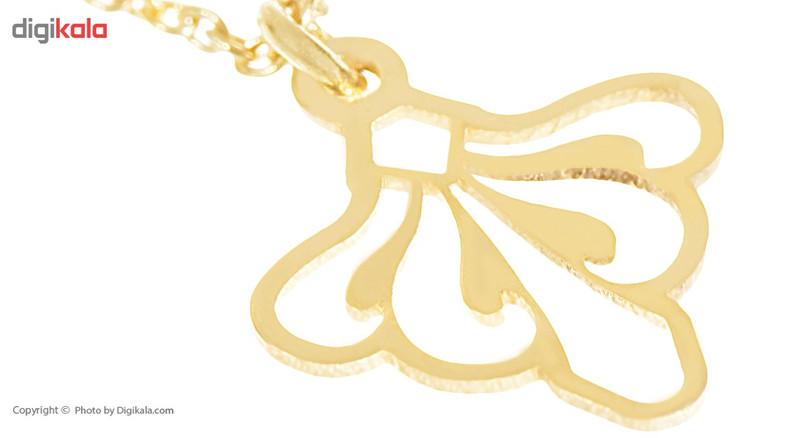 آویز ساعت طلا 18 عیار ماهک مدل MW0014