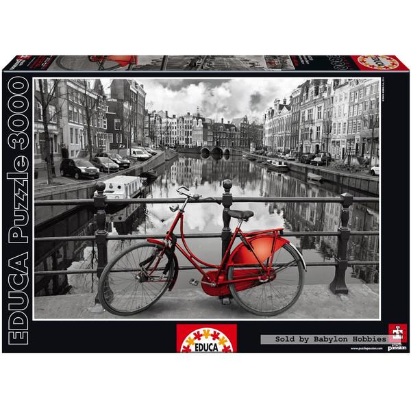 پازل 3000 تکه ادوکا مدل Amesterdam