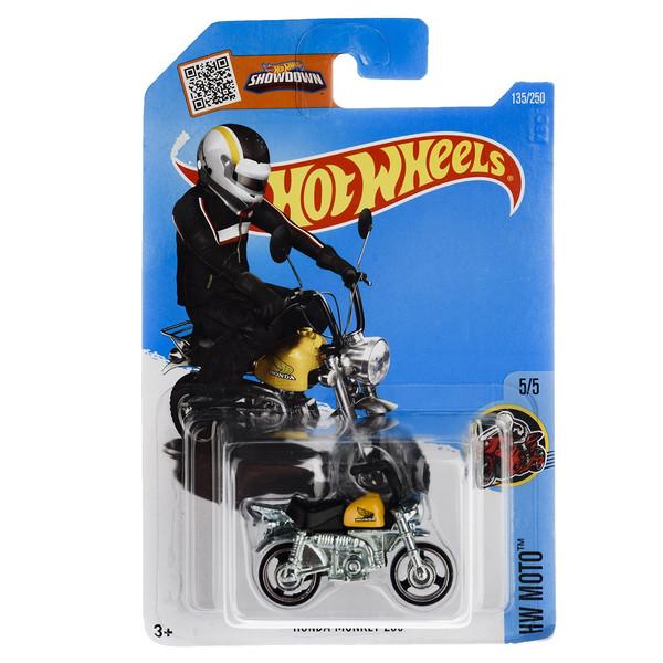 موتور بازی متل سری هات ویلز مدل  Honda Monkey