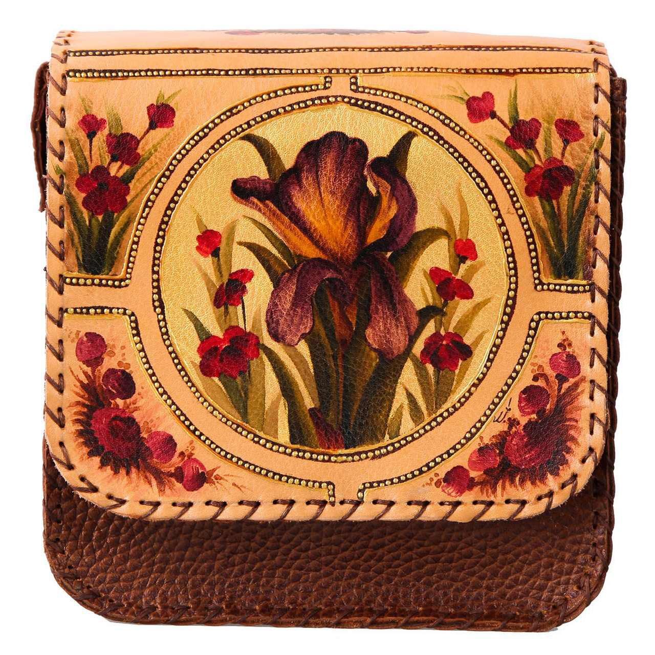 کیف دوشی گالری دیبا طرح گل کد 178019