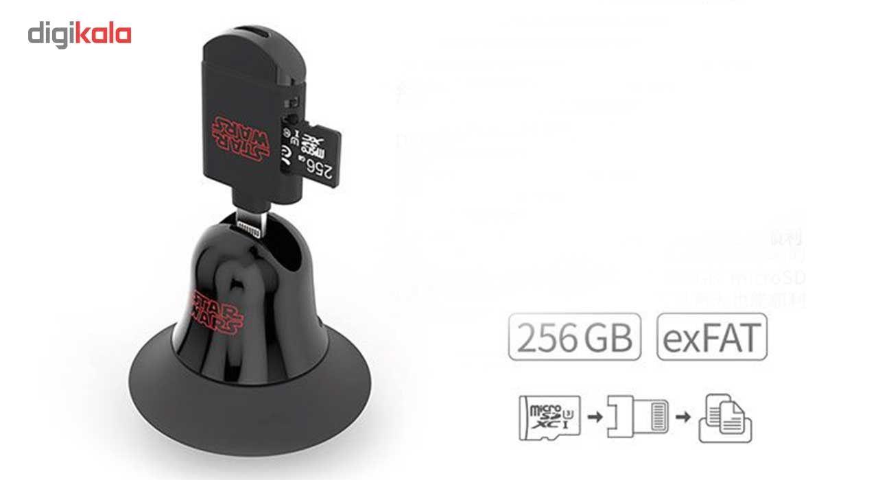 کارت خوان آدام المنتس مدل Star Wars With 64GB microSD با کانکتور لایتنینگ main 1 7