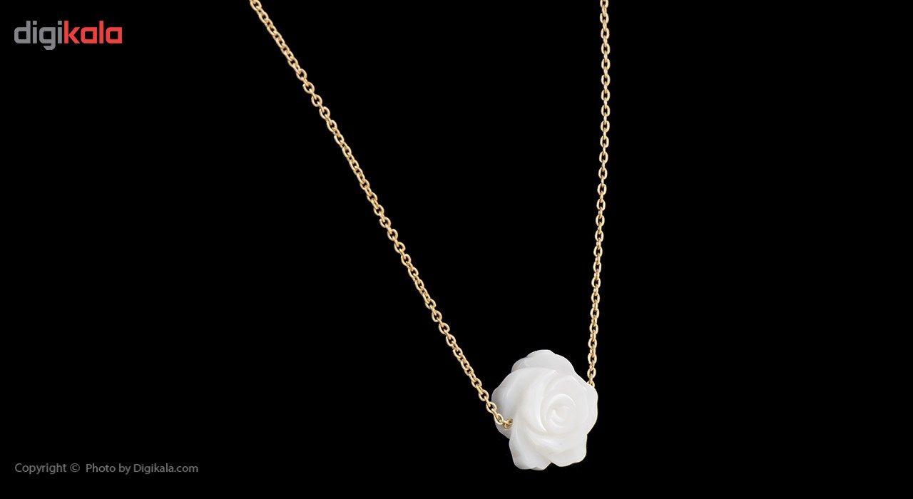 گردنبند طلا 18 عیار ماهک مدل MM0409 - مایا ماهک -  - 2