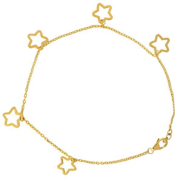 پابند طلا 18 عیار ماهک مدل MA0069