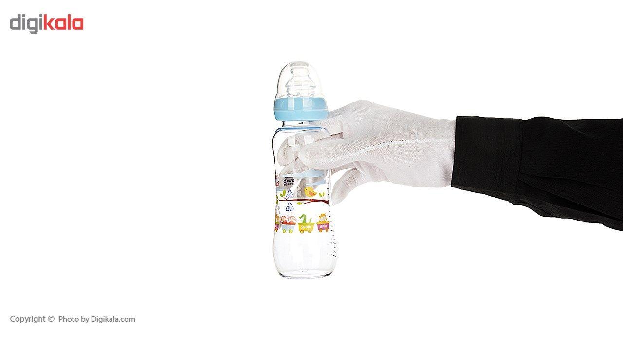 شیشه شیر بیبی لند مدل 305Train ظرفیت 240 میلی لیتر main 1 4