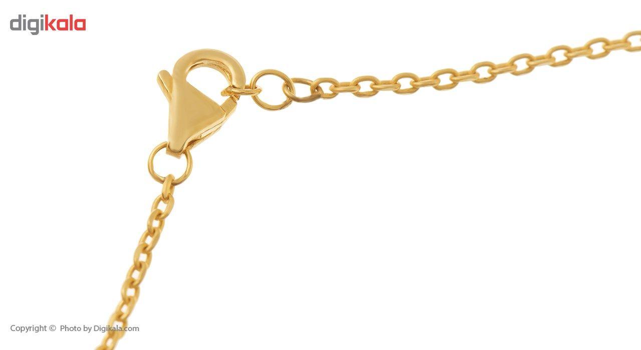 پابند طلا 18 عیار ماهک مدل MA0069 -  - 1