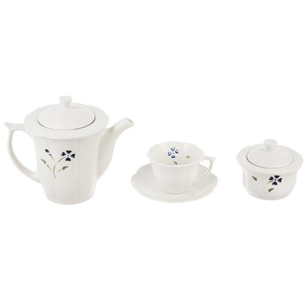 سرویس چای خوری 16 پارچه چینی مقصود مدل Morassa