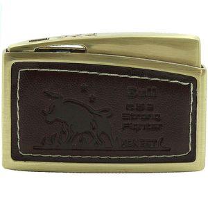 فندک هانست چرمی  مدل Golden 9575