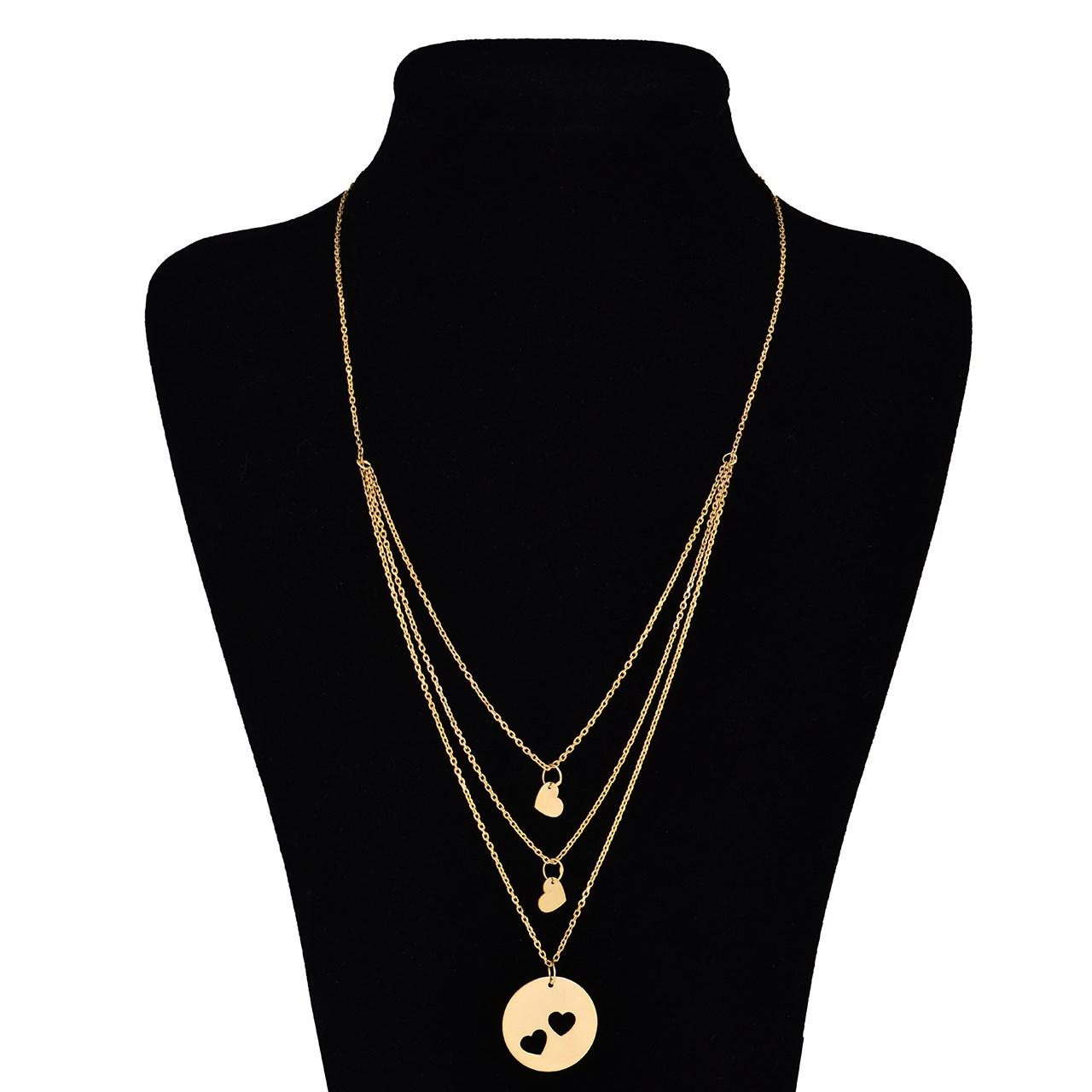 قیمت گردنبند طلا 18 عیار ماهک مدل MM0362