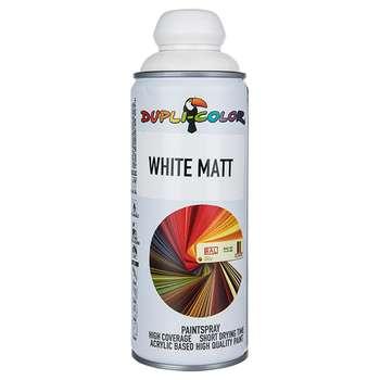 اسپری رنگ سفید مات دوپلی کالر حجم 400 میلی لیتر