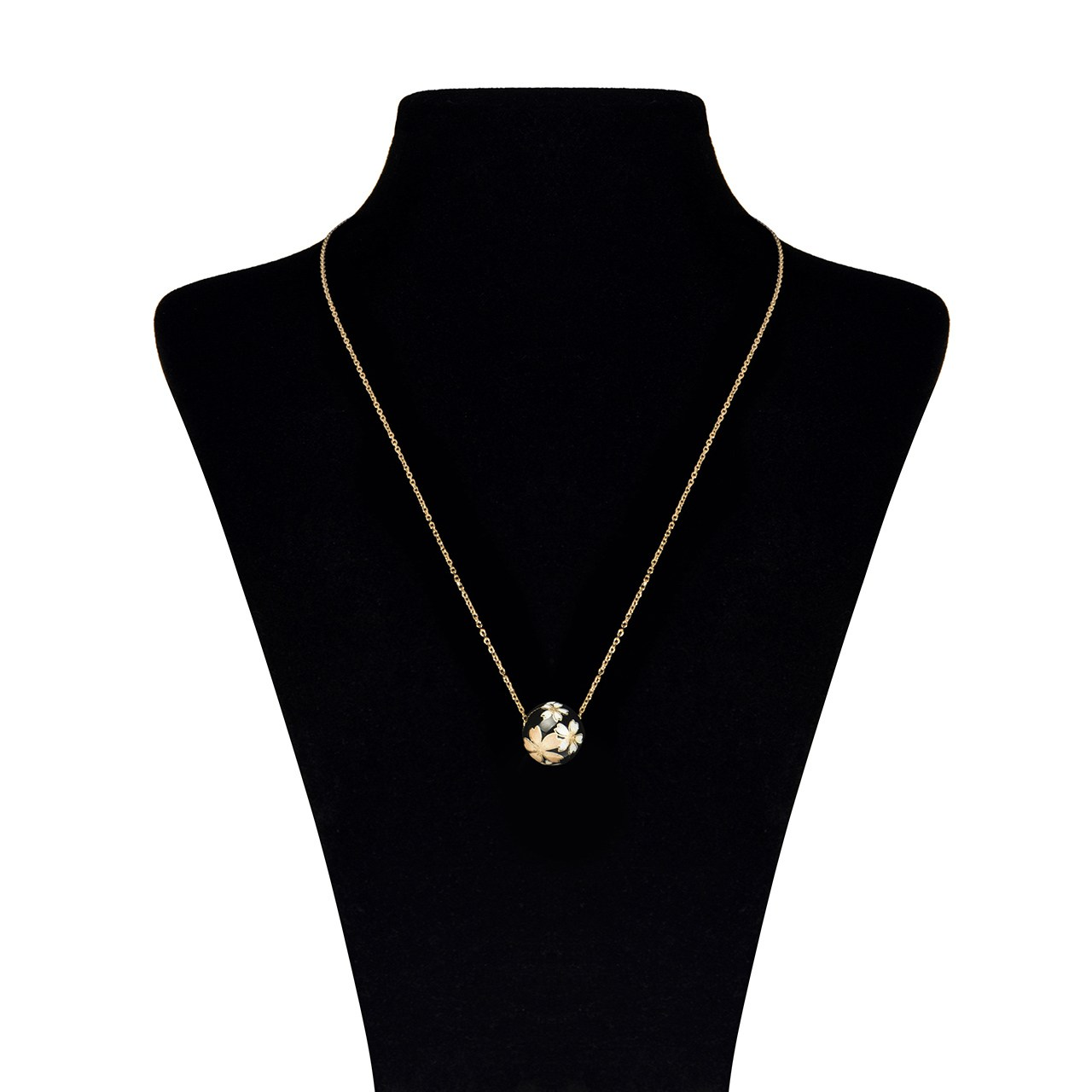 گردنبند طلا 18 عیار ماهک مدل MM0475