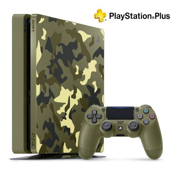 مجموعه کنسول بازی سونی مدل Playstation 4 Slim Limited Edition کد CUH-2115B Region 2 - ظرفیت 1 ترابایت
