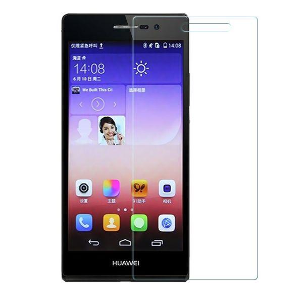 محافظ صفحه نمایش شیشه ای مدل Tempered مناسب برای گوشی موبایل هوآوی Ascend P6