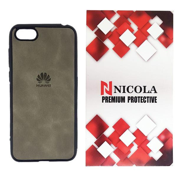کاور نیکلا مدل N_LOGO مناسب برای گوشی موبایل هوآوی Y5 2018