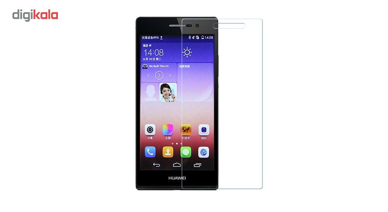 محافظ صفحه نمایش شیشه ای مدل Tempered مناسب برای گوشی موبایل هوآوی Ascend P6 main 1 1