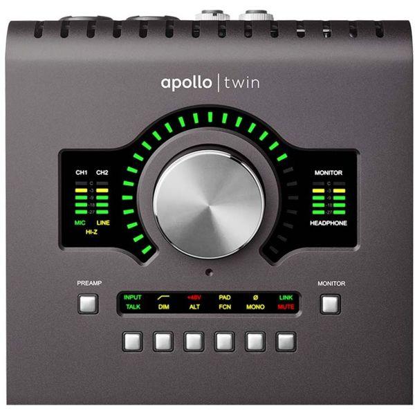 کارت صدای یونیورسال آودیو مدل Apollo Twin MKII Quad