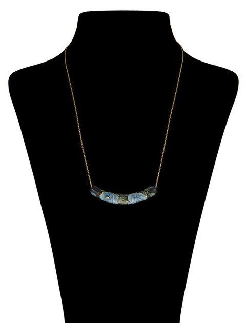 گردنبند طلا 18 عیار ماهک مدل MM0453 - مایا ماهک -  - 1